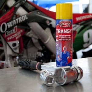 Use Transyl to maintain your motorbike