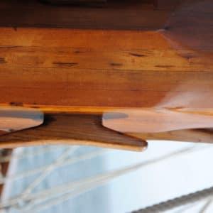 Deks Olje D2 applied to a sail boat mast