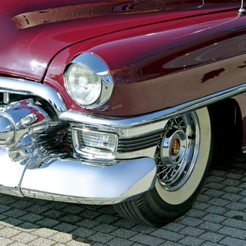 Polytrol used on a car's bodywork