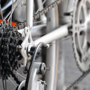 Transyl can lubricate mechanical parts such as a bike chain