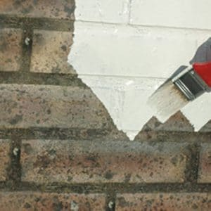 Emulsa-Bond (E-B) being used on a wall