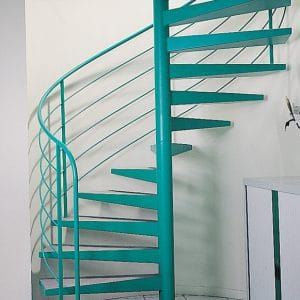 Owatrol Deco used on metal staircase