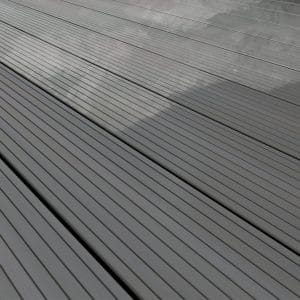 Clean and maintain composite decking with Compoxell Grey
