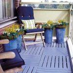Small purple deck