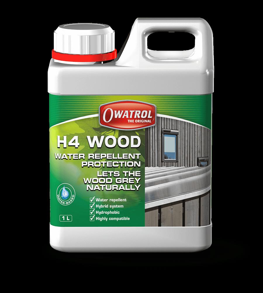 H4 Wood, waterproof wood sealer