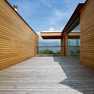 Net-Trol used to revive woodencladding