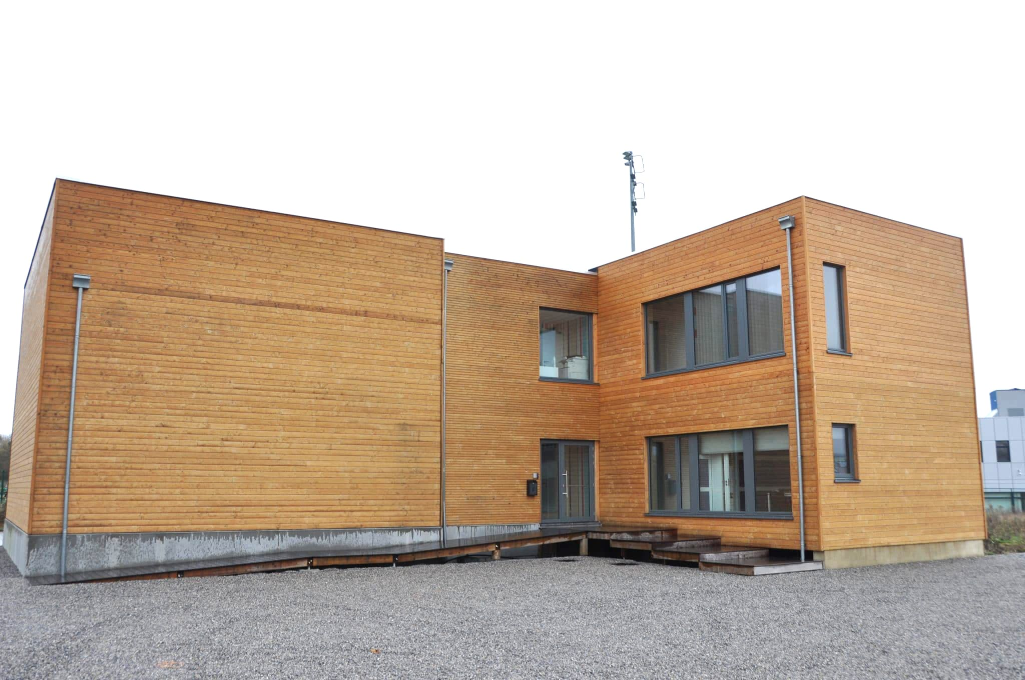 SI106 applied to wood cladding