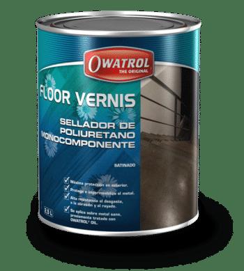Floor Vernis packaging