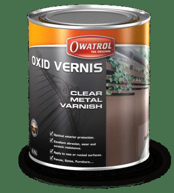 Oxid Vernis packaging