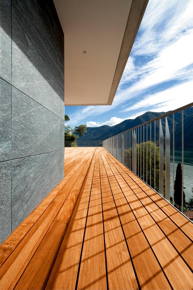 Aquadecks applied to a deck