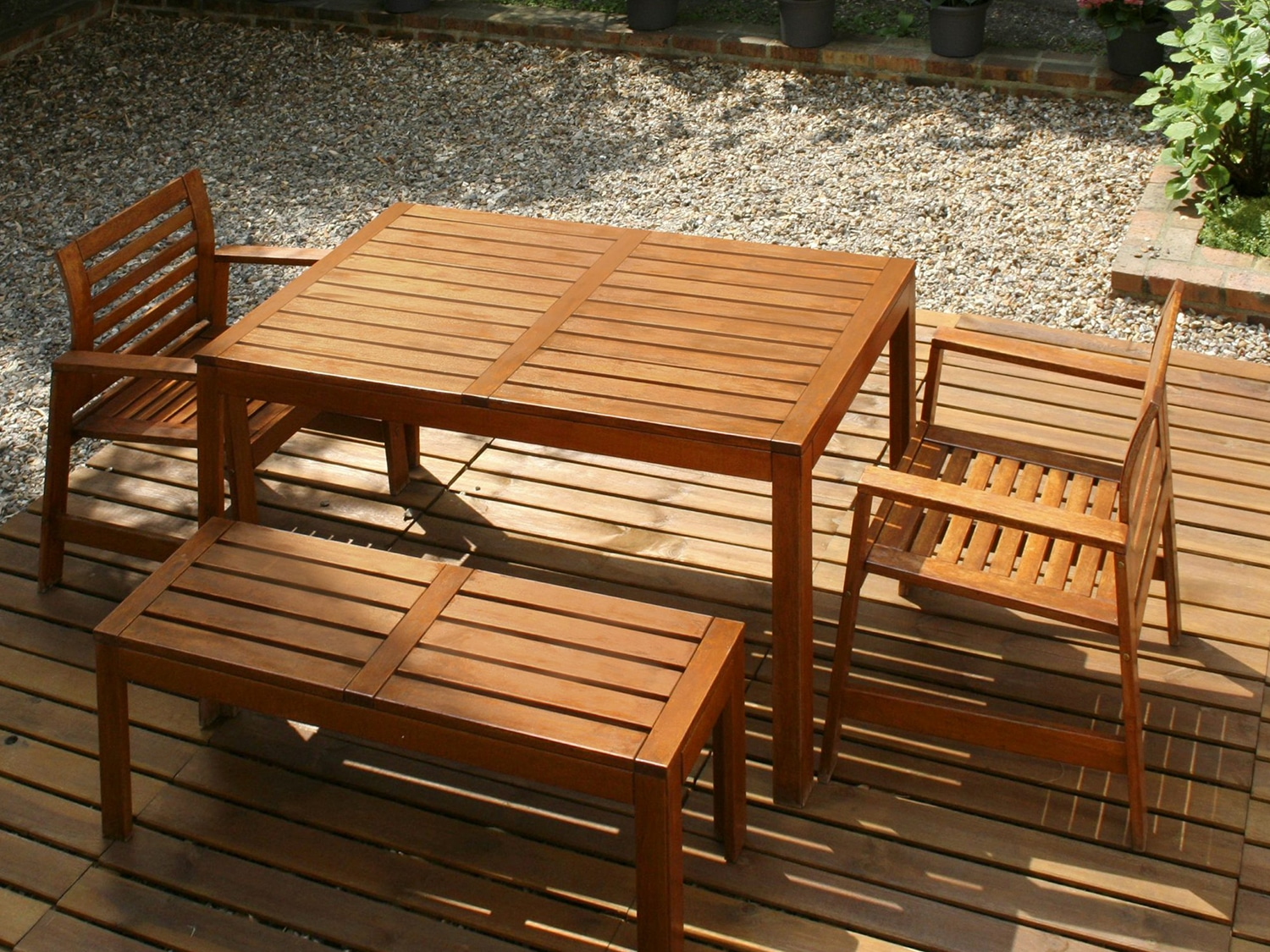 Garden furniture protected with Textrol
