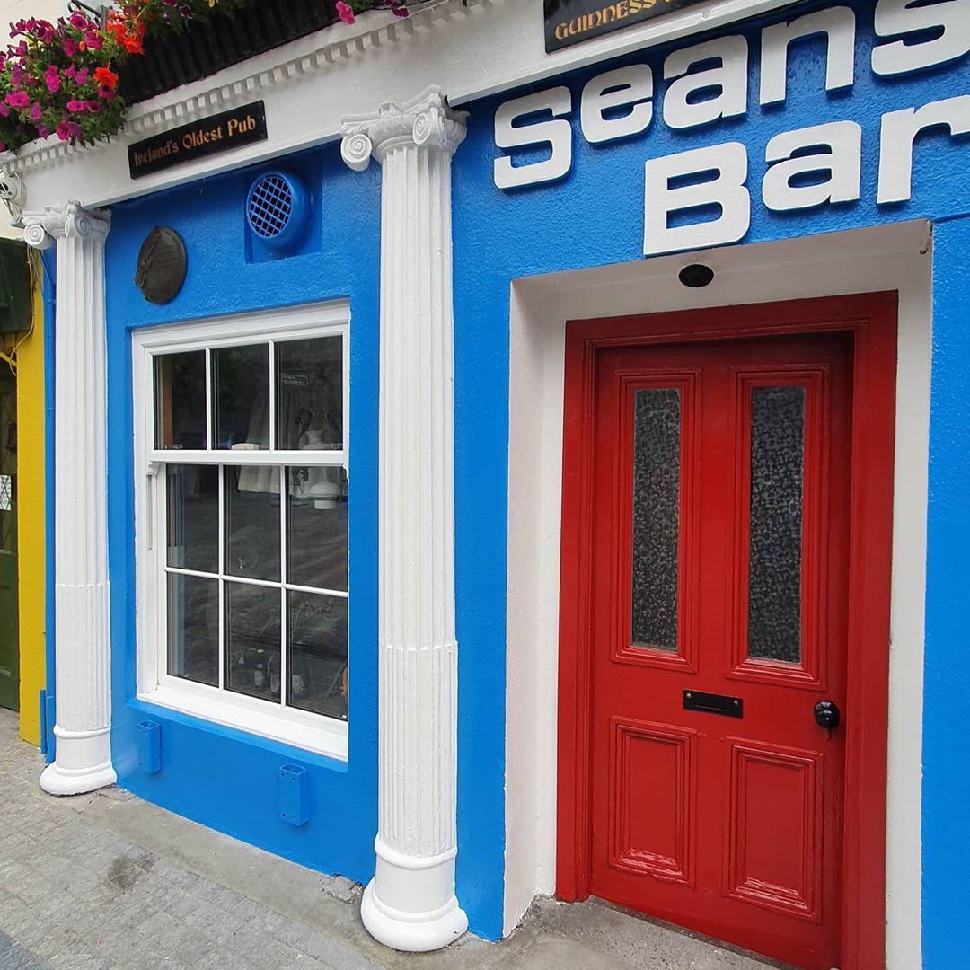Sean's bar after restoration close up