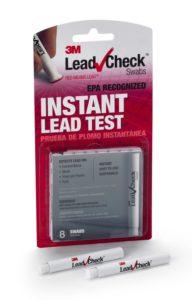 Lead paint testing kit