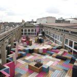 Multicoloured deck