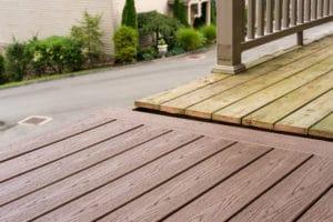hardwood decking vs composite wood decking